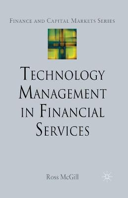 Technology Management in Financial Services book