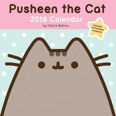 2016 Pusheen the Cat Wall by Claire Belton