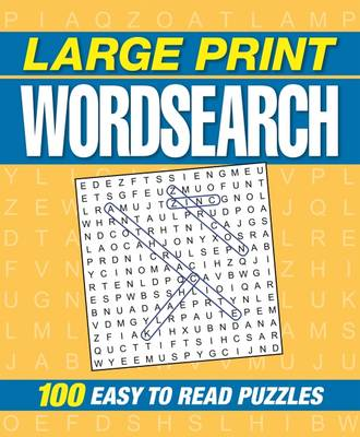 Large Print Wordsearch by Arcturus Publishing