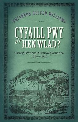 Cyfaill Pwy o'r Hen Wlad?: Gwasg Gyfnodol Gymraeg America 1838-66 book