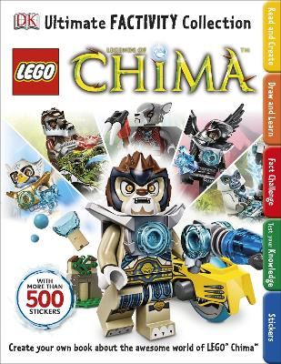 LEGO Legends of Chima Ultimate Factivity Collection by DK