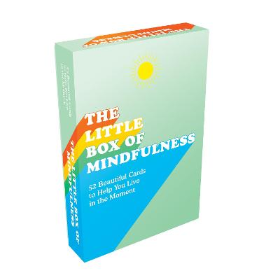 The Little Box of Mindfulness: 52 Beautiful Cards to Help You Live in the Moment book