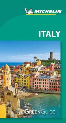 Michelin Green Guide Italy (Travel Guide) by Michelin