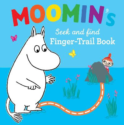 Moomin's Seek and Find Finger-Trail book book