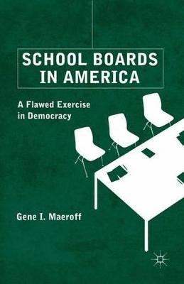 School Boards in America book