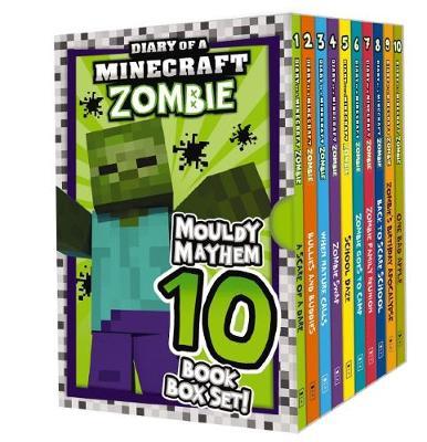Diary of a Minecraft Zombie: Mouldy Mayhem 10 Book Box Set! by Zack Zombie