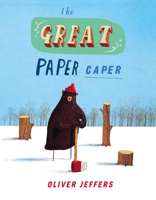 The The Great Paper Caper by Oliver Jeffers
