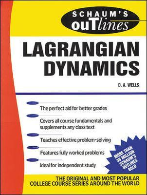 Schaum's Outline of Lagrangian Dynamics by Dare A. Wells