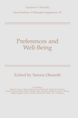 Preferences and Well-Being book