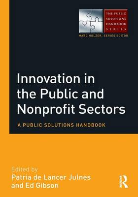 Innovation in the Public and Nonprofit Sectors by Patria De Lancer Julnes