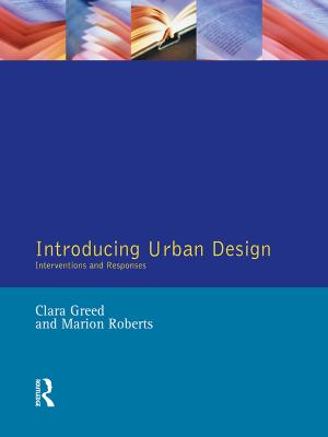 Introducing Urban Design book