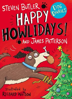 Dog Diaries: Happy Howlidays! by Steven Butler
