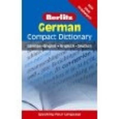 Berlitz Compact Dictionary German by APA Publications Limited