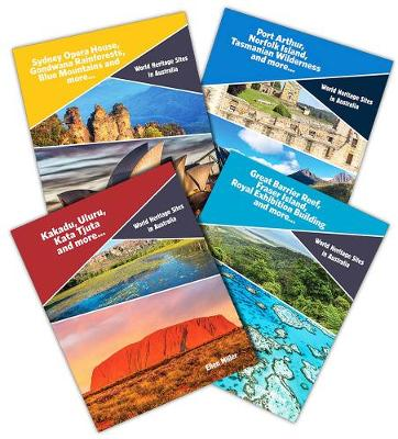 World Heritage Sites in Australia Paperback Series Pack of 4 by null
