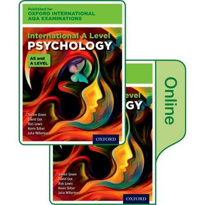 International A Level Psychology for Oxford International AQA Examinations: Print & Online Textbook Pack by Julia Willerton