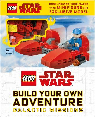 LEGO Star Wars Build Your Own Adventure Galactic Missions: With LEGO Star Wars Minifigure and Exclusive Model book