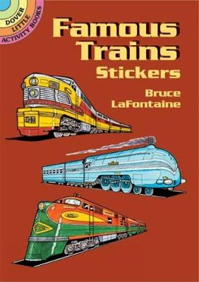 Famous Trains Stickers book