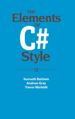 Elements of C# Style book