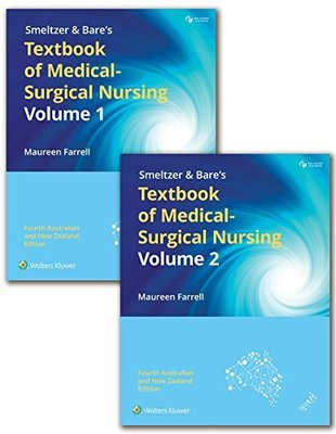 Package of Smeltzer and Bare's Textbook of Medical-Surgical     Nursing 2 Volume Set, ANZ edition Print book and vSim Access    Card (12 month access) by Farrell