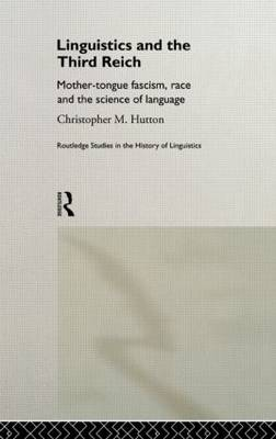 Linguistics and the Third Reich book