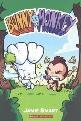 Bunny vs. Monkey book