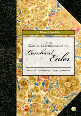 Early Mathematics of Leonhard Euler book