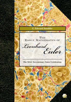 Early Mathematics of Leonhard Euler book