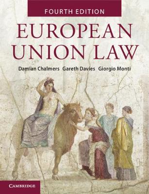 European Union Law: Text and Materials by Damian Chalmers