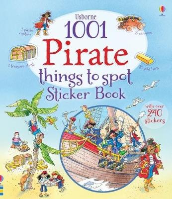 1001 Pirate Things to Spot Sticker Book by Rob Lloyd Jones