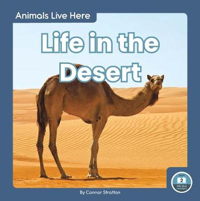 Animals Live Here: Life in the Desert by Connor Stratton