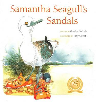 Samantha Seagulls Sandals PB by Gordon Winch