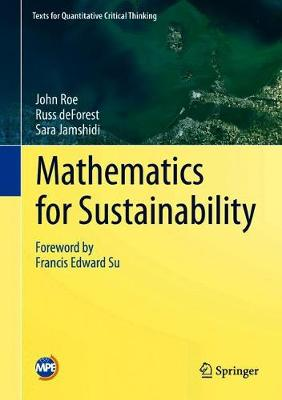 Mathematics for Sustainability by John Roe