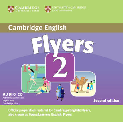 Cambridge Young Learners English Tests Flyers 2 Audio CD book