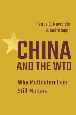 China and the WTO: Why Multilateralism Still Matters by Petros C. Mavroidis