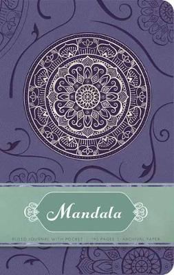 Mandala Hardcover Ruled Journal by Insight Editions