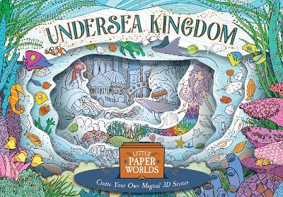 3D Colourscapes: Undersea Kingdom by Anna Stiles