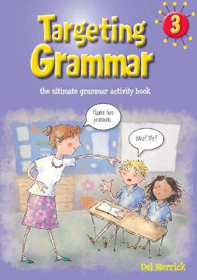 Targeting Grammar Book 3 by Del Merrick