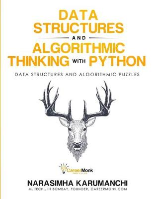 Data Structure and Algorithmic Thinking with Python by Narasimha Karumanchi