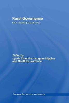 Rural Governance book