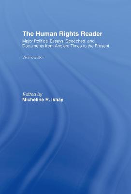 Human Rights Reader by Micheline R. Ishay