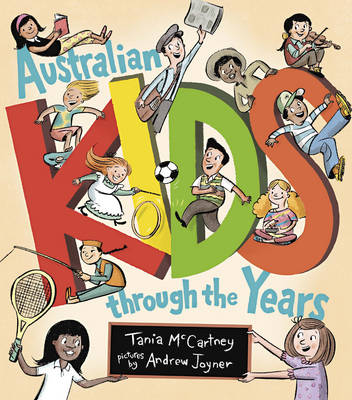 Australian Kids through the Years book