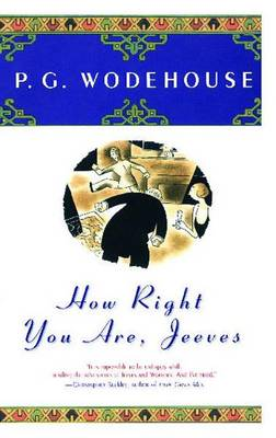 How Right You Are, Jeeves by P G Wodehouse