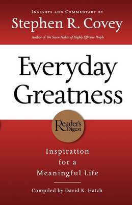 Everyday Greatness by Stephen R. Covey
