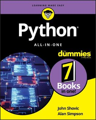 Python All-in-One For Dummies by John Shovic