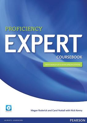 Expert Proficiency Coursebook and Audio CD Pack by Megan Roderick