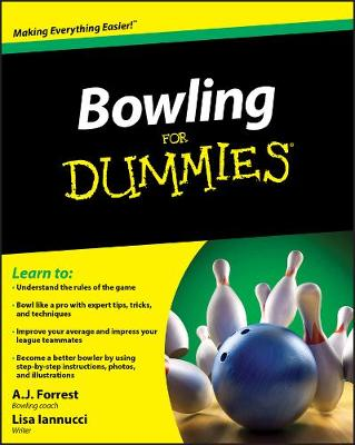 Bowling For Dummies book