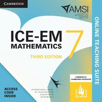 ICE-EM Mathematics Year 7 Online Teaching Suite by Peter Brown