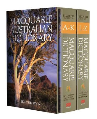 Macquarie Dictionary Eighth Edition by Macquarie Dictionary