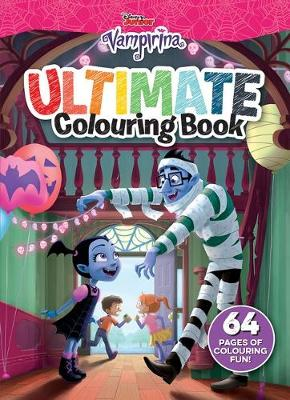 VAMPIRINA ULTIMATE COLOURING book