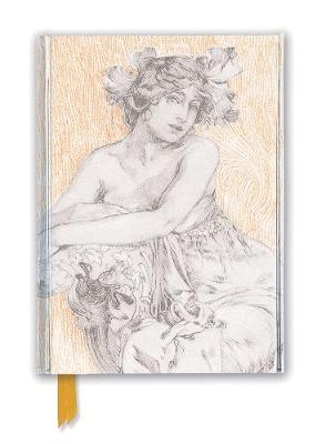 Alphonse Mucha: Study for Documents Decoratifs Plate 12 (Foiled Journal) by Flame Tree Studio